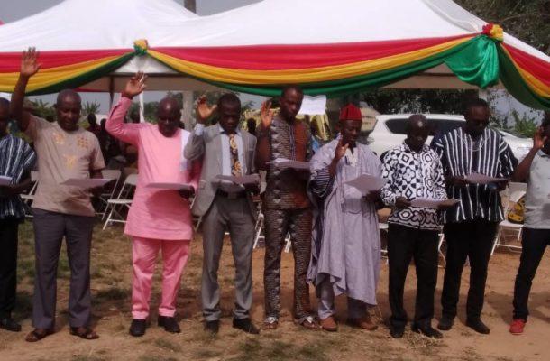 Suhum Municipal Assembly Members inaugurated
