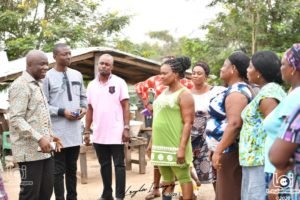 Construction of 4 ultra-modern satellite markets take off in Odumase-Krobo