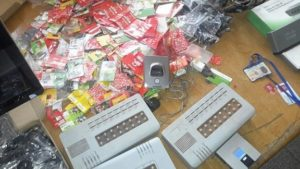 NCA, GRA and KelniGVG bust SIM box syndicate in Tema