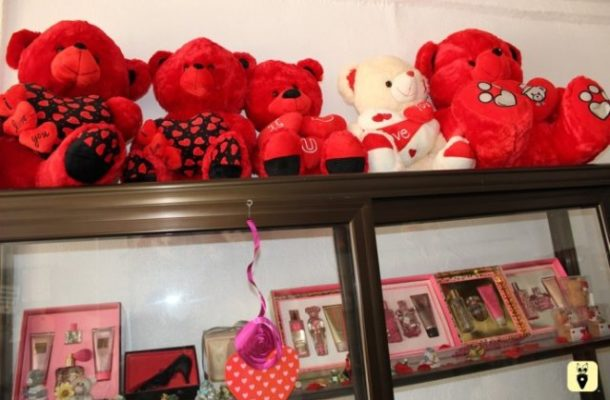 Shops in Cape Coast record high patronage ahead of Valentine's Day