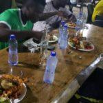 PHOTOS: Elmina Sharks players enjoy dinner with Dr. Nduom