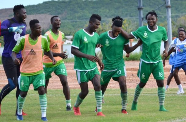 Elmina Sharks inflict first home defeat on Medeama