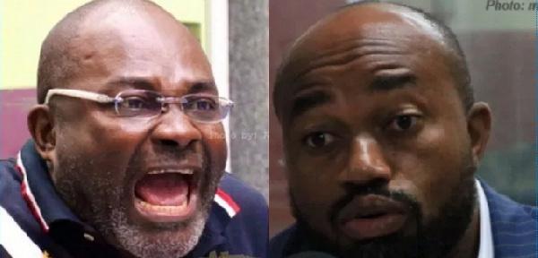 'Latter-day saint' McDan, Ekow Ewusi will collapse NPP' – Kennedy Agyapong