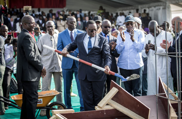 Senegalese President launches construction of 50,000-seat stadium for Dakar 2022
