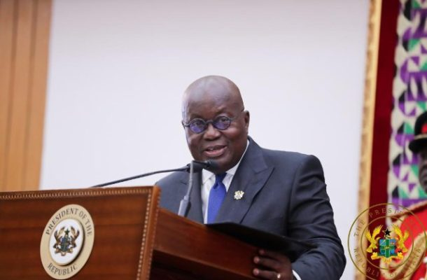 Full Text:  President Akufo-Addo's 2020 State of the Nation Address