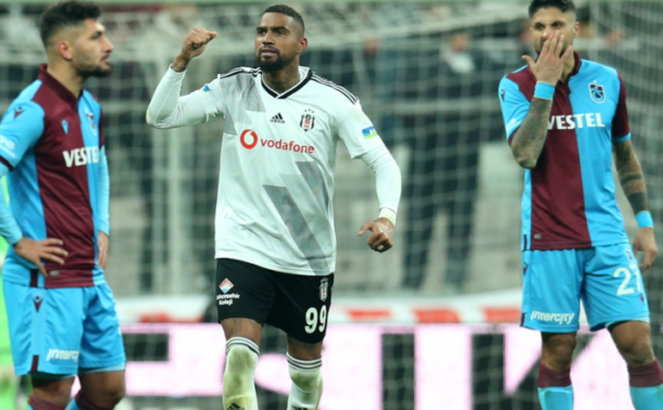 KP Boateng on target for Besiktas in Turkish Super Lig