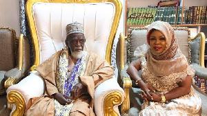 National Chief Imam gives Afia Schwarzenegger new Islamic name