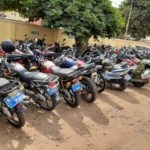 Accra police clamp down on motorbike riders in fight against street robberies