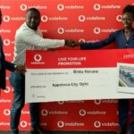 Vodafone rewards customer with plot of land at Appolonia City