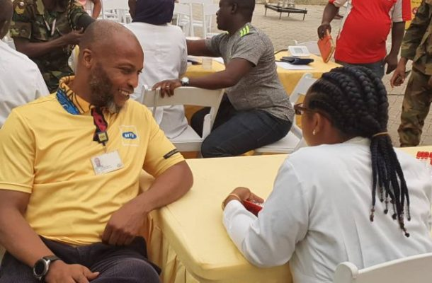 MTN Ghana raise over 6,000 units of blood to save lives