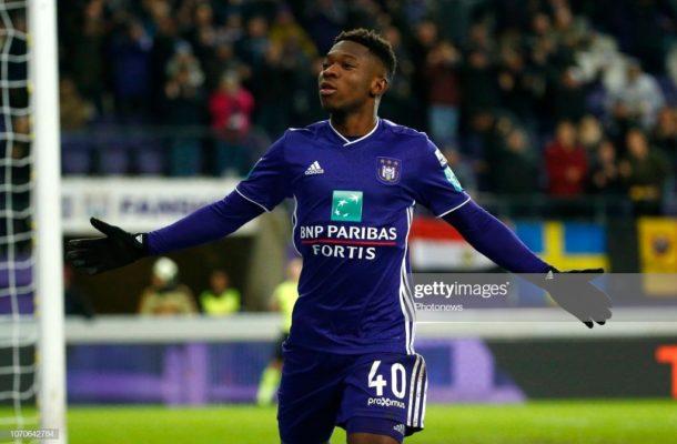 Francis Amuzu still floundering at Anderlecht.