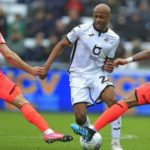 Andre Ayew scores 13th goal of the season in Swansea City win