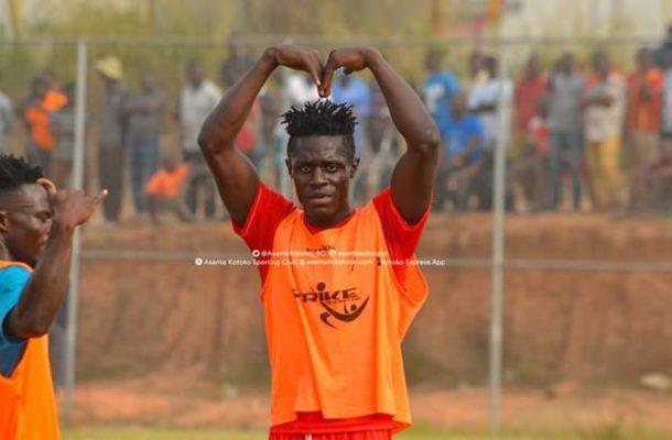 Kotoko newboy Kwame Poku scores five goals in friendly