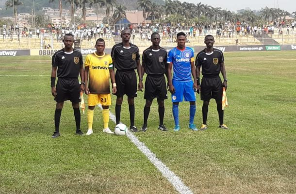GPL: Match officials for week 10 announced