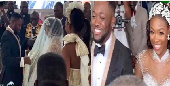 Videos from Dr. Osei Kwame Despite's son's white wedding
