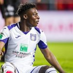 Why did Jeremy Doku only sign until 2022 for Anderlecht ?