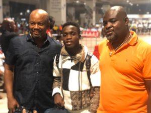 PHOTOS: Mathew Anim Cudjoe touches down in Ghana after Bayern Munich trials
