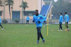 VIDEO: Emmanuel Boateng, his Dalian Yifang team trapped in Spain due to Corona virus in China