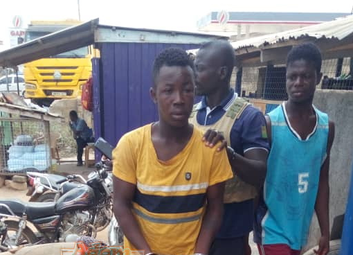 PHOTO: Ex-convict arrested for stealing 15 fowls in one week