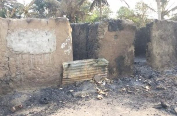20 homeless after fire at Kayame in Ketu South Municipality