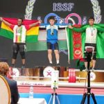 2020 Olympic Qualifiers: Christian Amoah and Forester Osei wins Five medals at ongoing ISSF Weightlifting Championship in Uzbekistan