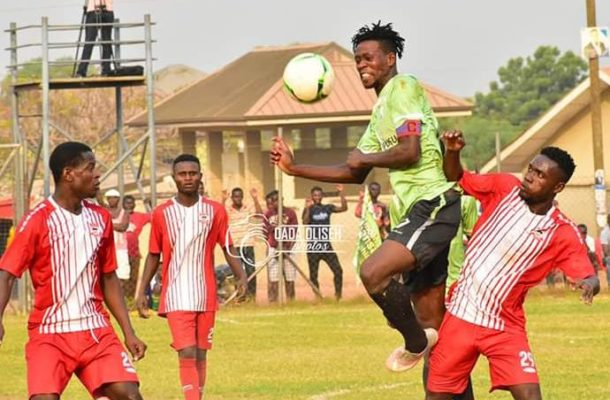 Agbozume Weavers fc fasten first win of the season