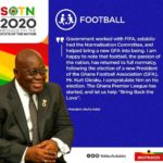 SOTN2020:GFA's #BringBackTheLove campaign given a presidential endorsement