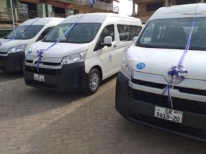 Greater Accra Regional GPRTU commissions ultra modern buses