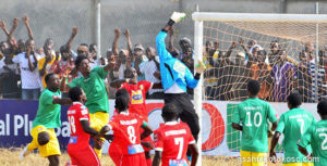 Both Kotoko and Aduana Stars played entire first half with ten men in Ghana Premier League clash