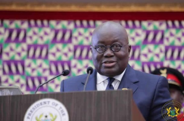 President Akufo-Addo charges Ghanaians to help #BringBackTheLove at #SONA