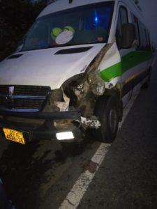 PHOTOS: Northern Ladies FC involved in an accident