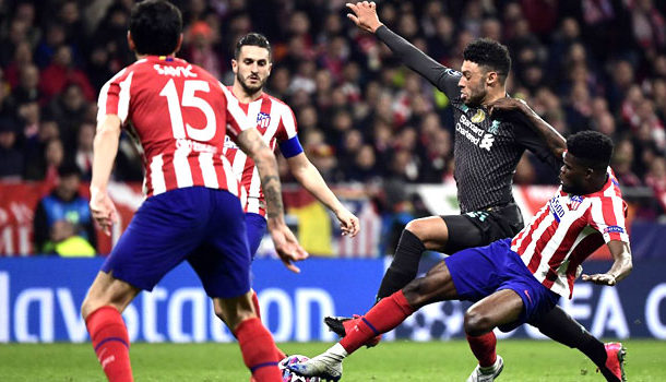 Thomas Partey stars in Athletico Madrid's triumph over Liverpool