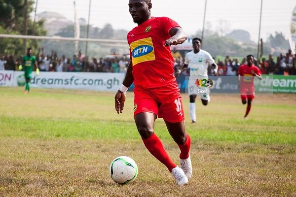 VIDEO: Kotoko's William Opoku Mensah misses an absolute sitter with only the goalkeeper to beat in Ashgold draw