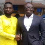 Bola Ray pays courtesy call on Afro-Arab boss