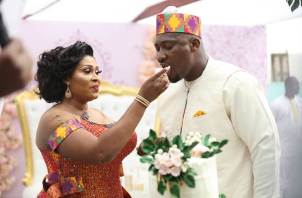 Check out the impressive photos from Chief Biney and Afia Akoto's traditional marriage