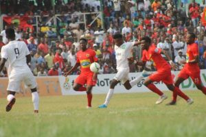 VIDEO: Watch highlights of Kotoko's 1 nil triumph over Dreams FC