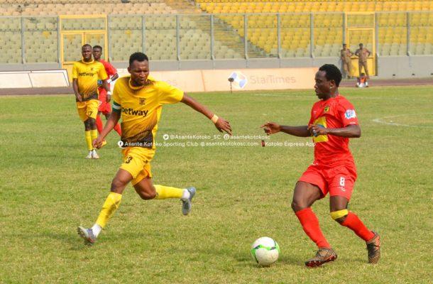 Goal shy Kotoko struggle to break down resolute Ashanti Gold