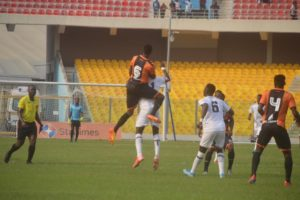 VIDEOS: Inter Allies draw 1-1 with Legon Cities