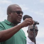 Mahama forgets name of Cape Coast North NDC PC on stage