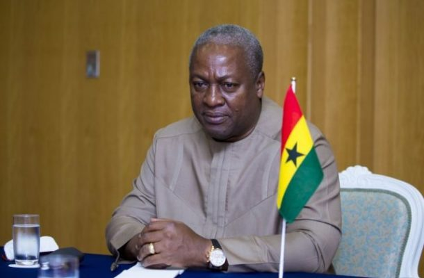 Mahama's 2020 Running Mate shortlist out