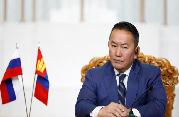 Mongolia President quarantined after China trip