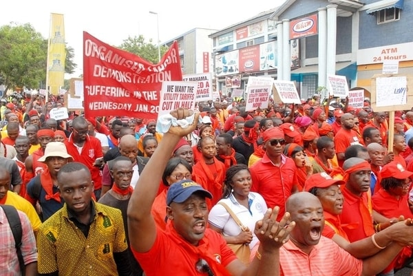 NABCO trainees threaten demo on 6th March over unpaid allowances