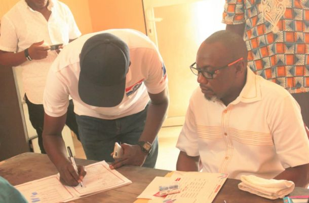 NPP Primaries: Nathaniel Ayettey files nomination to contest Ledzokuku seat