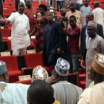VIDEO: MP storms Parliament in the company of his 4 wives, 27 children