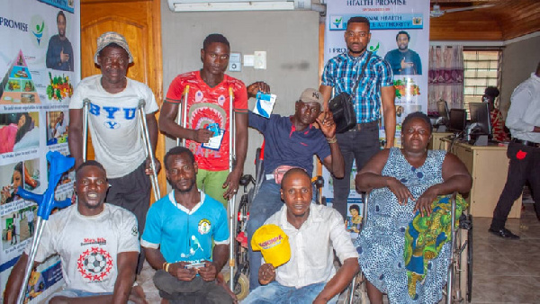 Police officer donates his salary to the physically challenged