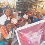 Boresah Foundation donates over 500 chocolates to market women, 'kayayei', others