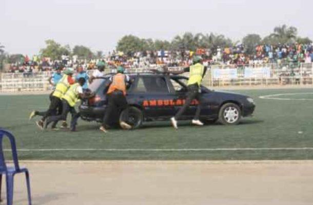 Nigerian player dies after stadium ambulance fails to start
