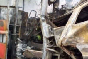 VIDEO: Over 20 people burnt to death in Kintampo Highway accident