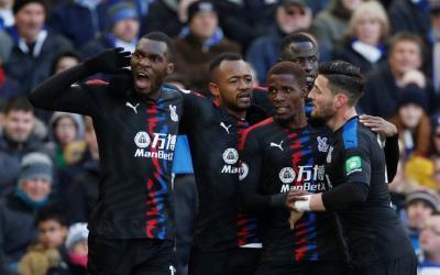 Jordan Ayew heaps praises on Christian Benteke after Brighton win