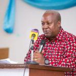 COVID-19: Ex-President Mahama calls on government to establish Regional isolation centers